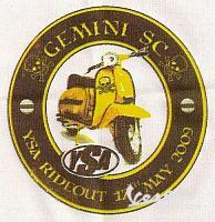 GEMINI SC,   YSA RIDE-OUT  2009