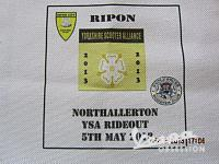 RIPON TO NORTHALLERTON YSA RIDEOUT  5-5-13