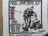 THE HULL DRIFTERS SCOOTER CLUBS 3RD OPEN DAY 2013