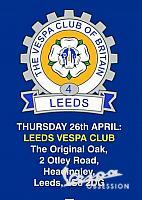 vespa Club of Britain -Multi meet Leeds